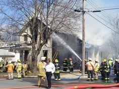 Two-family home destroyed in W. Glens Falls blaze (Photo Erica Miller EMILLER@saratogian.com)