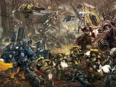 Warhammer 40000,warhammer40000, warhammer40k, warhammer 40k, ваха, сорокотысячник,фэндомы,art,арт,красивые картинки,Imperium,Империум,Chaos (Wh 40000),Black Legion,Imperial Fists,Ultramarines,Ультрамарины
