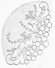 Resultado de imagen para PATRONES BORDADO RICHELIEU Cutwork Embroidery, Sewing Machine Embroidery, Baby Embroidery, Lace Stencil, Pattern And Decoration, Ideias Diy, Paper Lace, Parchment Craft, Sewing Art
