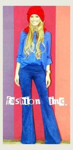 Pantalon de pana oxford - Fashion Inc