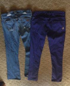 Item: Two designer jeans Joe size 28 & Rich & skinny 27