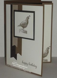 Walk in the Wild ~ Masculine Birthday by shoogendoorn - Cards and Paper Crafts at Splitcoaststampers