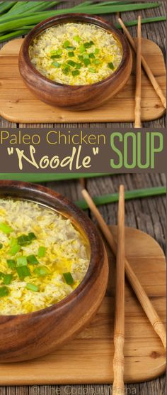 112. PASTURE-RAISED CHICKEN Paleo chicken noodle soup is a nourishing ...