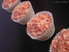 Cupcakes de vainilla.