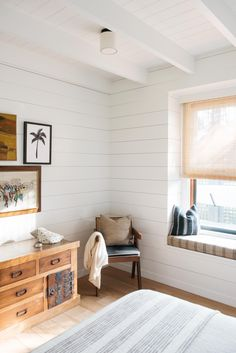 A Vintage Hawaiian Beach Cottage, Restored and Ready for Relaxation - Remodelista Roberto Sosa Beach House Bedroom Detail Beach Cottage Style, Beach Cottage Decor, Coastal Decor, Cottage Ideas, Beach House Bedroom, Home Decor Bedroom, Beach Cottage Bedrooms, Baby Bedroom, Hawaiian Bedroom