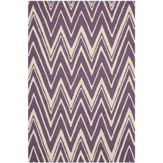 Found it at Wayfair - Cambridge Purple/Ivory Area Rug