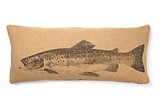 Xl Fish Pillow  French Laundry Home