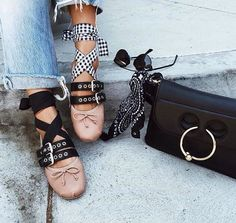 Flats can be so cool! ballet slippers gone wild | LE CATCH