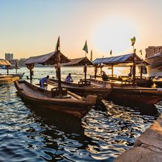 Dubai Creek - This natural creek is the city's lifeline - and where the story of this modern metropolis began