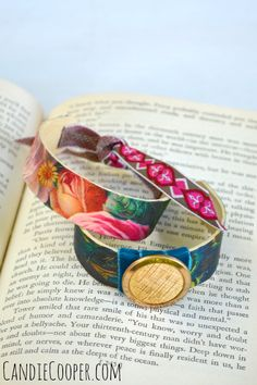 Popsicle Bracelet DIY -  I'm guest posting on the Graphics Fairy blog! Check out my popsicle bracelet tutorial there! Tweet
