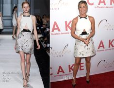 Jennifer Aniston In Giambattista Valli – 'Cake' LA Premiere