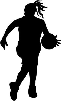 girl basketball player clipart clipart panda free clipart images rh pinterest com girls basketball clip art images