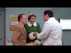 Elf (2003). Buddy goes to the doctor Expected and unexpected behavior