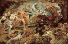 Meleager and Atalanta and the Hunt of the Calydonian Boar, c. 1618-19  Norton Simon Museum