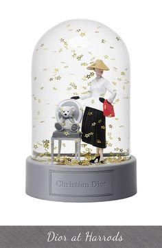 Dior at Harrods Snowglobe Exclusive £300