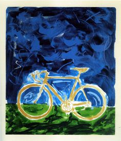 Schifano's Bicycles....Mario Schifano