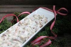 Kär(r)ingröra med gravad lax och en julräkning.