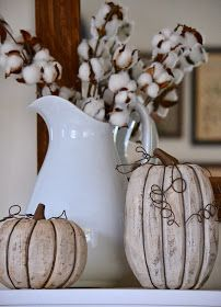 Shabby Love: 2013 Fall Decor and a Link Party