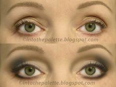 eyeshadow application on mature hooded eyes