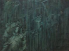 File:'States of Mind III; Those Who Stay', oil on canvas painting by Umberto Boccioni, 1911.jpg