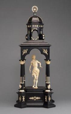 Tempietto Mit Schmerzensmann (Tempietto with hurting man) Christoph Angermair (1580-1633)