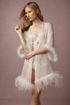 Shop our vintage-inspired bridal lingerie collection. BHLDN offers a variety of wedding lingerie perfect for your wedding night and beyond! Satin Lingerie, Pretty Lingerie, Bridal Lingerie, Beautiful Lingerie, Lingerie Sleepwear, Women Lingerie, Lace Bridal Robe, Bridal Robes, Sexy Dresses