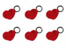 Red Heart Stitch Markers