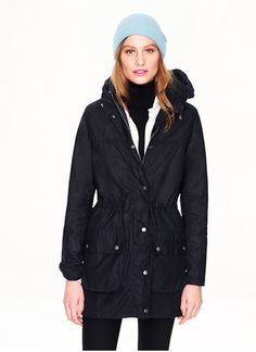 Barbour  Keeps you warm in Winter and faaall