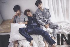 Hoya, Dongwoo and L ❤