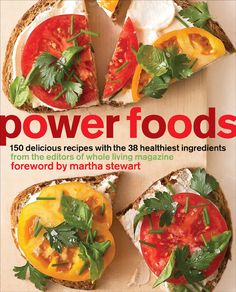Alex Postman's book Power Foods has a wealth of healthy recipes and supplementary information. The emphasis is on nutrient dense, vibrant foods such as berries, greens, nuts and fish.