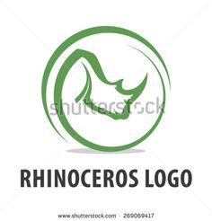 Rhinoceros Logo - Rhino Branding - Rhino Forest Vector Graphic Design Typography, Logo Design, Rhino Logo, Branding, Rhinos, Rhinoceros, Dremel, Cement, Faces