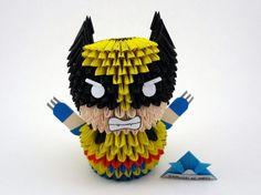 Origami 3D - Wolverine - X-men