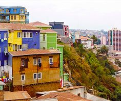 World's Most Colorful Cities: Valparaiso, Chile Visit Chile, Cities, City Scene, Travel Memories, Travel And Leisure, Dream Vacations, Travel Inspiration, Places To Go, Around The Worlds