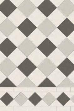 Image result for grey black white victorian tiles