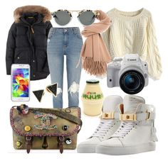 91° C in Korea by carolinealavess on Polyvore featuring polyvore mode style Chicwish Boden River Island BUSCEMI Michael Kors Acne Studios Eos Samsung fashion clothing