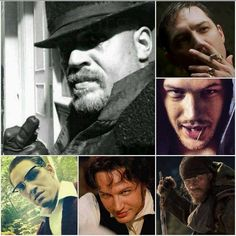 Collage - Tommy / Compositions of photos of Tom Hardy