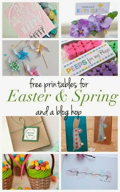 Pen N' Paper Flowers: FREE | Watercolor Carrots :: Easter Tags