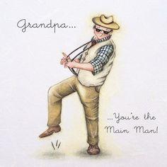 Cards » Grandpa » Grandpa - Berni Parker Designs