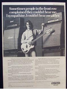 John Wetton Marshall ad John Wetton, Ed King, Steve Howe, John Payne, King Crimson, My Heart Aches, Uriah, Music Magazines, Another World