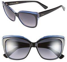 Christian Dior 56mm Cat Eye Sunglasses