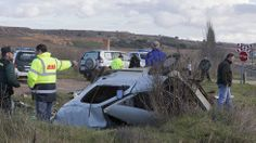 Un muerto al ser arrollado por un tren Alvia el coche que conducía