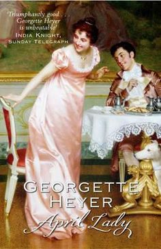 April Lady by Georgette Heyer found in my local library
