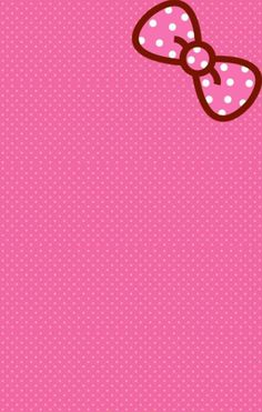 Pink hello kitty wallpaper! #art #hellokitty #wallpaper