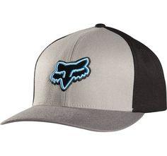 Gorra - FOX - Reminder Flexfit - Gris Negro Azul ef305785598
