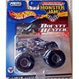 Hot Wheels Monster Jam Metal Collection Mattel Wheels #35 BOUNTY HUNTER 2002 Collectible Truck 1:64 Scale