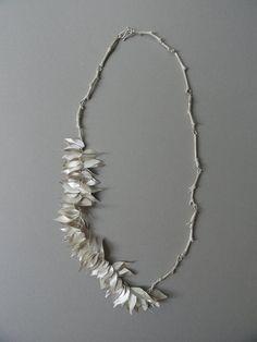 """Alexandra Serpa Pimentel """"Verão"""" - 2010 - Necklace - Silver"""