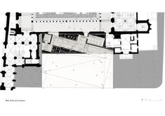 Musée des Augustins à Toulouse, Aires Mateus – Beta Architecture Toulouse, Plan Drawing, The Cloisters, Architecture Plan, The Expanse, Planer, Facade, How To Plan, A5