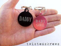 BDSM custom engraved tag for collar necklace by TwistedSkrews