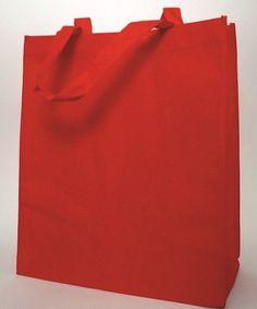 Wygodne, praktyczne i stylowe pakowanie Twoich zakupów! ;)  www.neopak.pl/torebki-papierowe/allbag-materialowe/torba-allbag-materialowa-300x150x350-czerwona