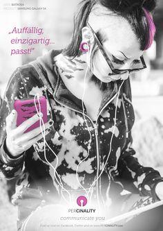 Du hast deine Lieblingsfarbe auf all deinen Klamotten? Ein Lieblingsmotiv, eine Lieblingszahl oder den Namen deiner besseren Hälfte gerne immer dabei? Deine #percinality zählt! // You have a favorite color on all your stuff? A favorite design, a favorite number or you like the presence of your partner just everywhere? It's your percinality that counts!